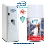 Spray Igienizare Aer Sanitizer 250 & Dispenser Skyline